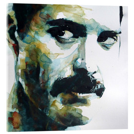 Acrylic glass  Freddie Mercury - Paul Paul Lovering Arts