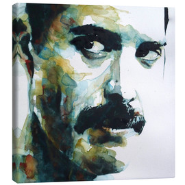 Canvas print  Freddie Mercury - Paul Lovering Arts