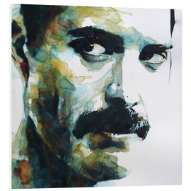 Foam board print  Freddie Mercury - Paul Lovering Arts
