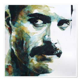 Premium poster  Freddie Mercury - Paul Lovering