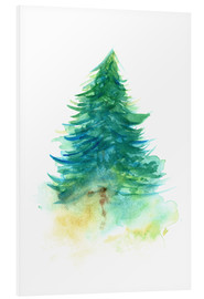 Foam board print  Spruce Tree - RNDMS