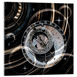 Acrylic print  Infinite time - diuno