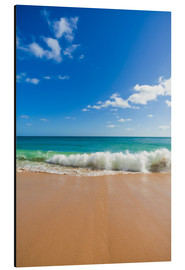Aluminium print  Awesome beach in Lagos at the Algarve - Dieterich Fotografie