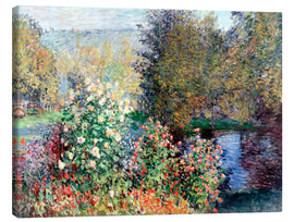 Canvas print  The corner - Claude Monet