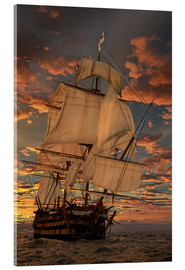 Acrylic glass  The HMS Victory - Peter Weishaupt