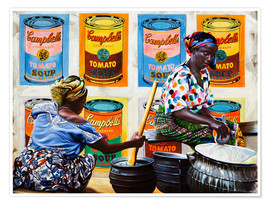 Poster Campbells Soup