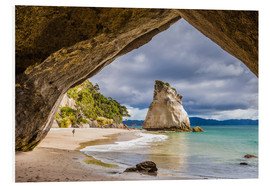 Foam board print  Cathedral Cove - Thomas Klinder