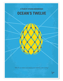 Premium poster No057 My Oceans 12 minimal movie poster