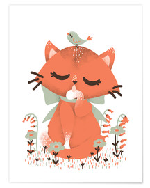 Poster Animal friends - The cat