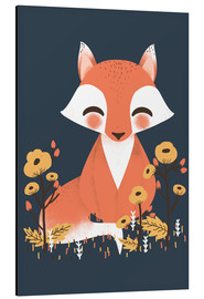 Alu-Dibond  Animal friends - The fox - Kanzi Lue
