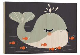 Wood  Animal friends - The whale - Kanzi Lue