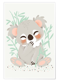 Premium poster Animal friends - the koala