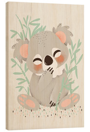 Wood  Animal friends - the koala - Kanzi Lue