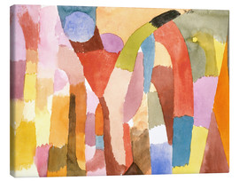 Canvas print  Movement of Vaulted Chambers - Paul Klee