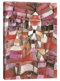 Canvas print  Rose garden - Paul Klee