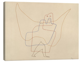 Canvas print  Angels Shut - Paul Klee