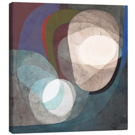 Canvas print  Buoyant Forces - Paul Klee