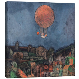 Canvas print  The balloon - Paul Klee