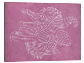Aluminium print  The creator - Paul Klee