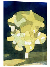 Acrylic glass  fig tree - Paul Klee