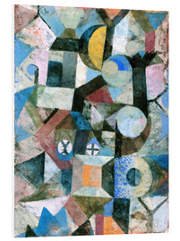 Forex  Composition with the Yellow Half-Moon and the Y - Paul Klee