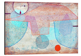 Aluminium print  Sunset - Paul Klee