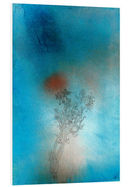 Foam board print  The plant and its enemy - Paul Klee