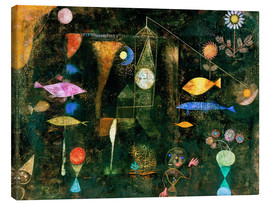 Canvas print  Fish magic - Paul Klee