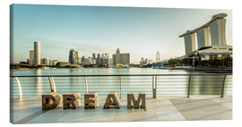 Canvas  Dream Singapore - Sebastian Rost