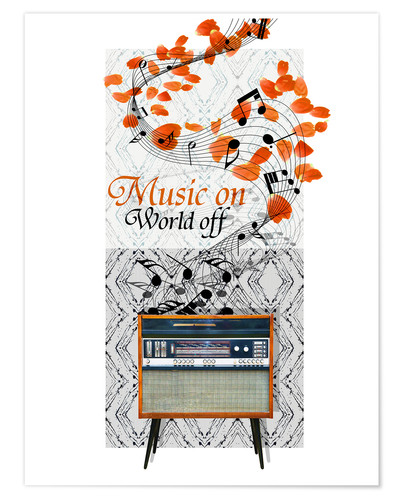 Poster Music On