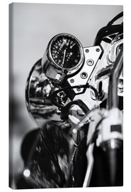 Canvas  Speedometer of a motorcycle