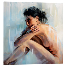 Acrylic print  Looking forward to something - Johnny Morant