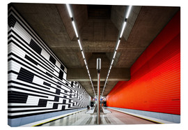 Canvas print  Subway Munich - Oberwiesenfeld - MUXPIX