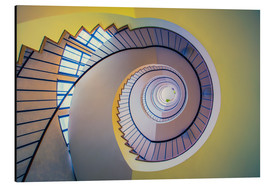 MUXPIX - Staircase in crayon