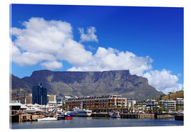 Acrylic print  Lovely Cape Town, South Africa - wiw