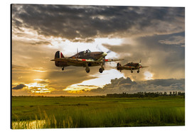 Aluminium print  Hurricanes Come Home - airpowerart
