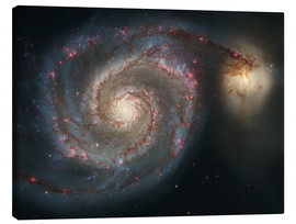 Canvas  Spiral nebulae - beauty of the universe - Christian Müringer