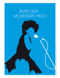 Premium poster Tina Turner - River Deep, Mountain High