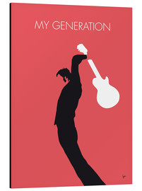 Aluminium print  The Who, My Generation - chungkong