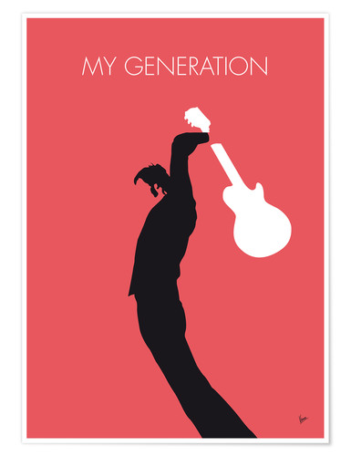 Premium poster The Who, My Generation