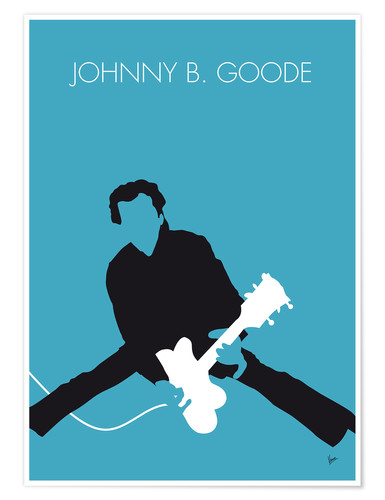 Premium poster Chuck Berry - Johnny B. Goode