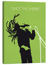 Canvas print  Bob Marley - I Shot The Sheriff - chungkong