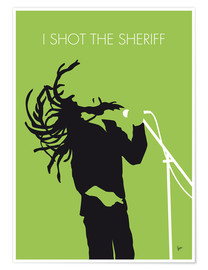 Premium poster Bob Marley - I Shot The Sheriff