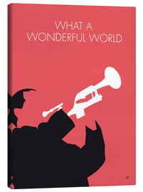 Canvas print  Louis Armstrong - What A Wonderful World - chungkong