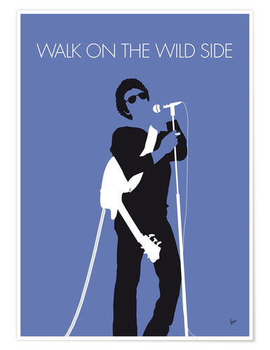 Premium poster Lou Reed - Walk On The Wild Side