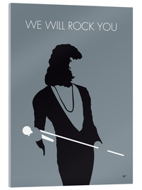 Acrylic glass  No027 MY QUEEN Minimal Music poster - chungkong