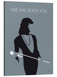 Aluminium print  Queen, We will rock you - chungkong