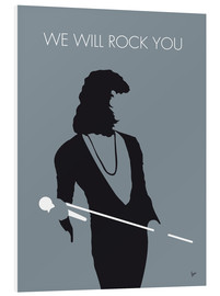Foam board print  Queen, We will rock you - chungkong