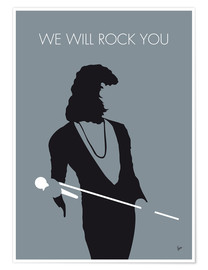 Premium poster Queen, We will rock you