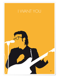 Premium poster Elvis Costello - I Want You